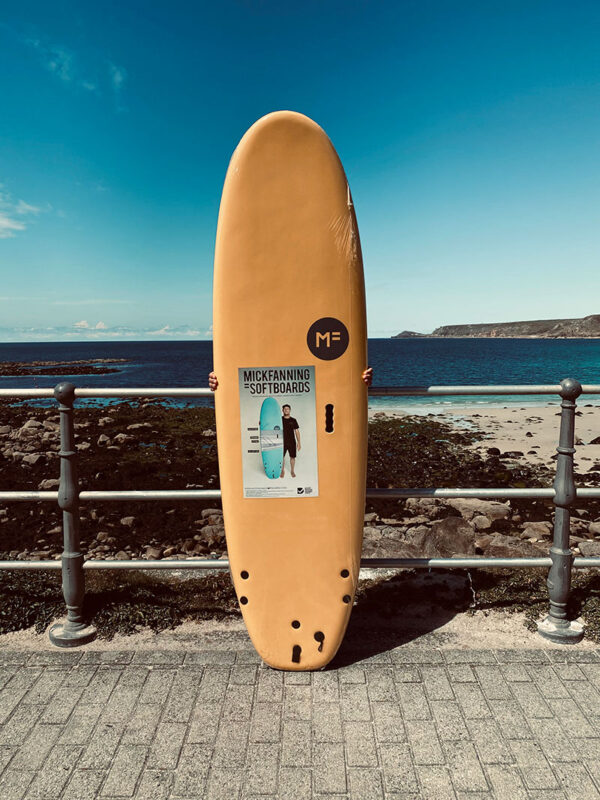 Supersoft surfboard